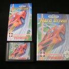Hard Drivin - Sega Genesis - Complete CIB