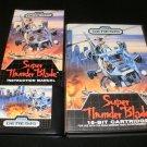 Super Thunder Blade - Sega Genesis - Complete CIB