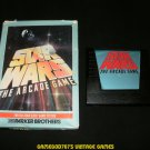 Star Wars The Arcade Game - Atari 5200 - With Box - Rare