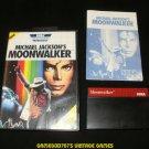 Michael Jackson's Moonwalker - Sega Master System - Complete CIB - Rare USA Version