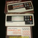 Computer Gin - Vintage Handheld - Mattel 1979 - Complete CIB
