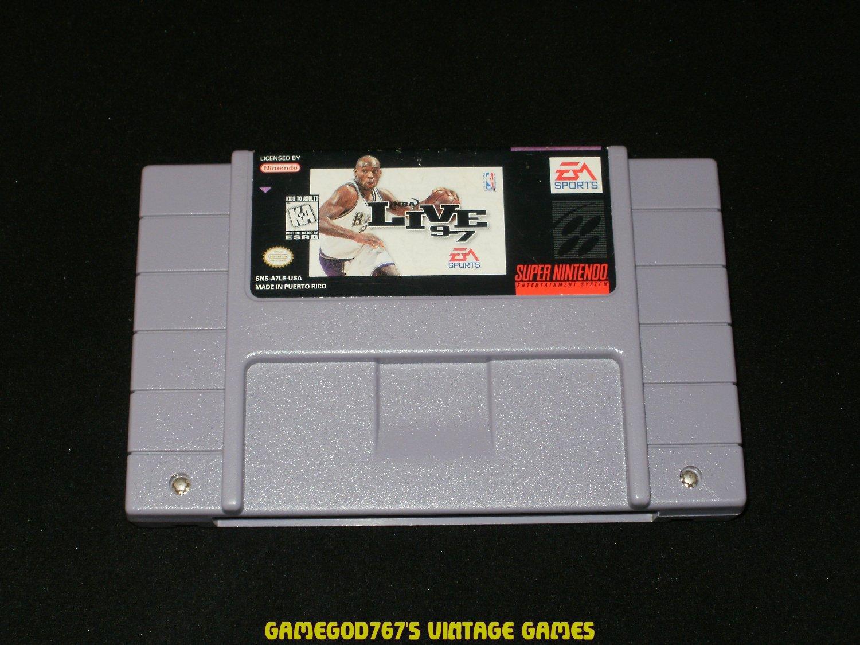 NBA Live 97 - SNES Super Nintendo