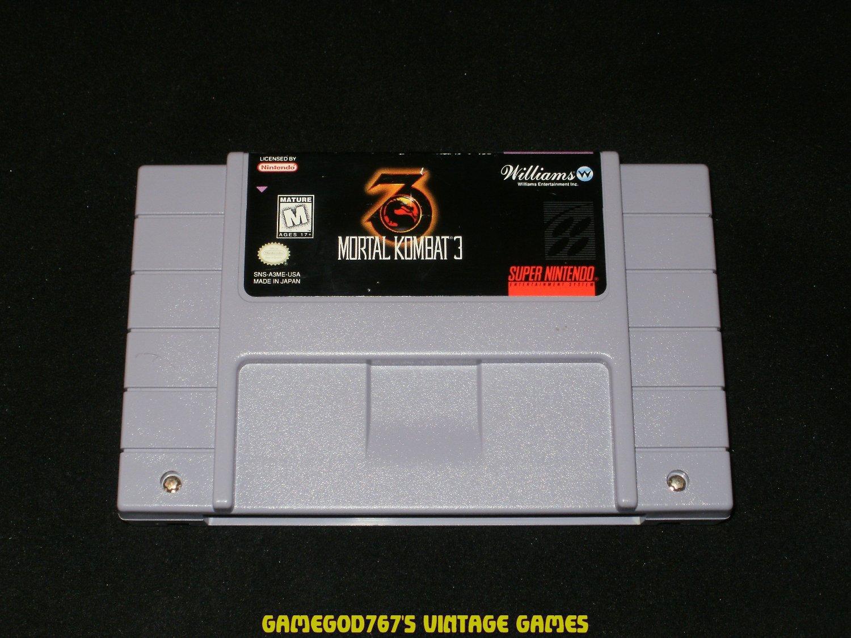 Mortal Kombat 3 - SNES Super Nintendo
