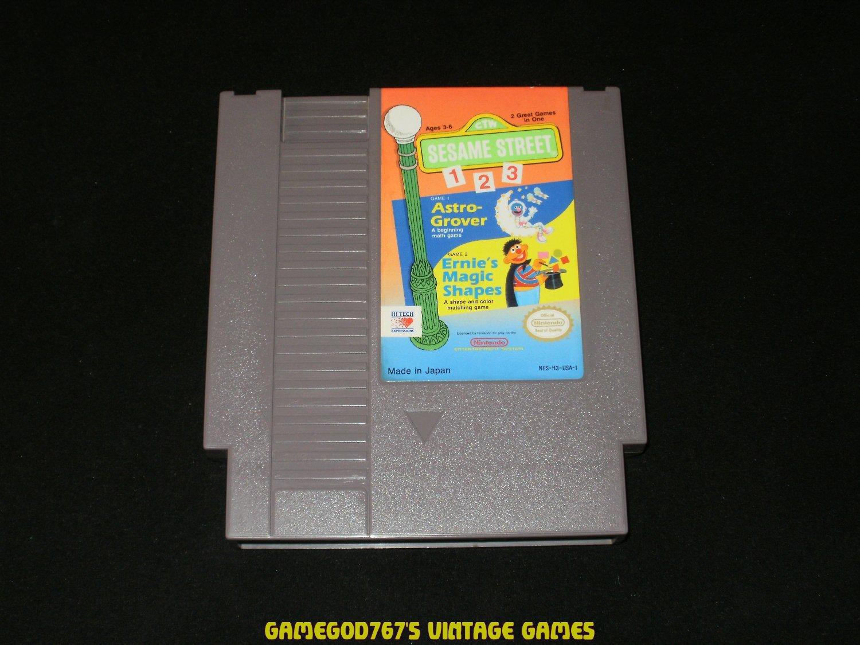Sesame Street 123 - Nintendo NES