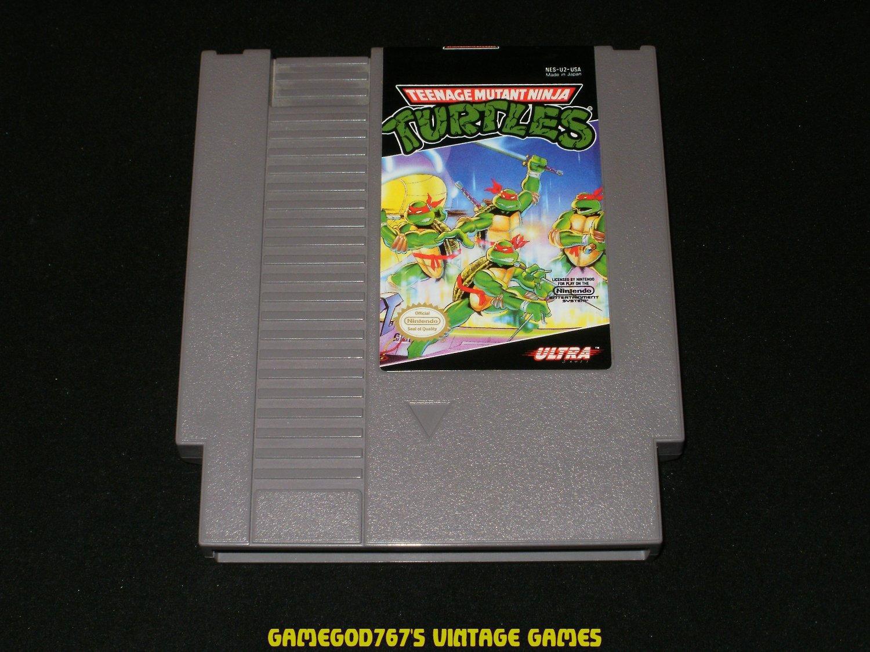 Teenage Mutant Ninja Turtles - Nintendo NES