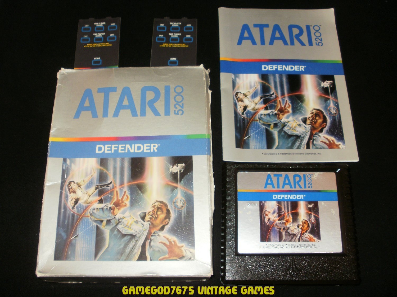 Defender - Atari 5200 - Complete CIB