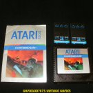 Countermeasure - Atari 5200 - With Manual & Overlays