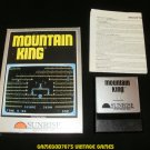 Mountain King - Colecovision - Complete CIB with Extras - Extremely Rare