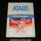 RealSports Baseball - Atari 5200 - Manual Only