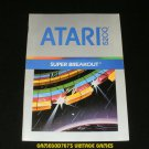Super Breakout - Atari 5200 - Manual Only