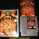 Swords & Serpents - Nintendo NES - With Manual & New Custom Case