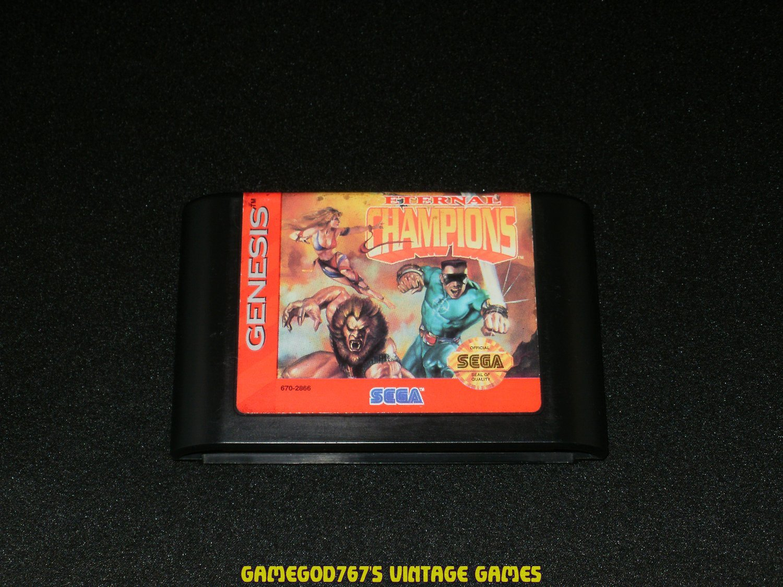 Eternal Champions - Sega Genesis