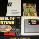 Wheel of Fortune - SNES Super Nintendo - With Box