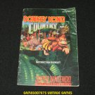 Donkey Kong Country - SNES Super Nintendo - Manual Only