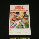 Missile Command - Atari 2600 - Manual Only