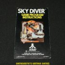 Sky Diver - Atari 2600 - Manual Only