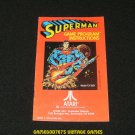 Superman - Atari 2600 - Manual Only