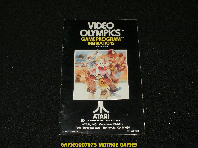 Video Olympics - Atari 2600 - Manual Only