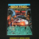 Star Trek - Atari 2600 - Manual Only - Rare