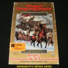 Advanced Dungeons & Dragons Secret of the Silver Blades - Commodore 64 - Complete CIB