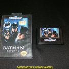 Batman Returns - Sega Genesis - With Box