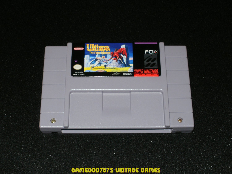Ultima VI The False Prophet - SNES Super Nintendo