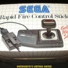Rapid Fire Control Stick - Sega Master System - Brand New - Extremely Rare
