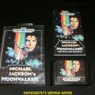 Michael Jackson's Moonwalker - Sega Genesis - Complete CIB - Rare
