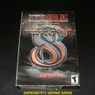Wizardry 8 - 2001 Sirtech - Windows PC - Complete CIB - Rare