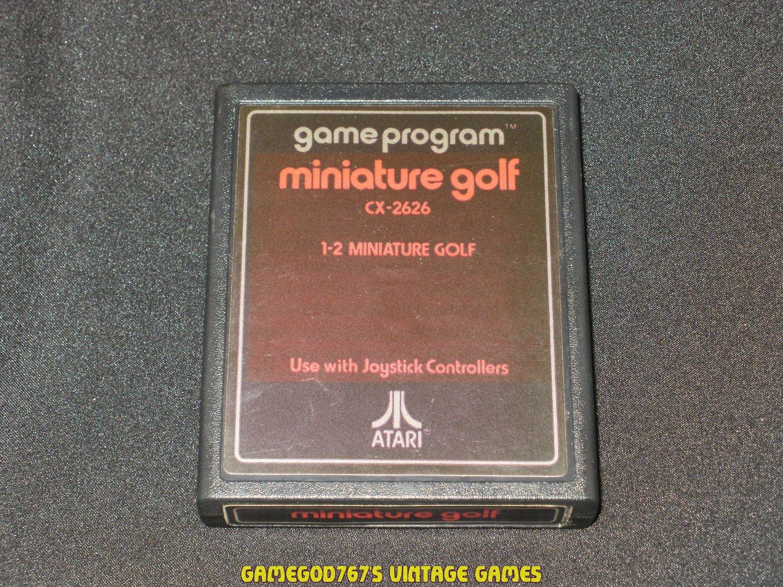 Miniature Golf - Atari 2600 - 1978 Text Label Version