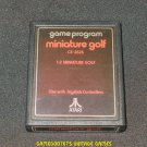 Miniature Golf - Atari 2600 - 1978 Text Label Version