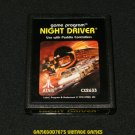 Night Driver - Atari 2600 - 1981 Picture Label Version