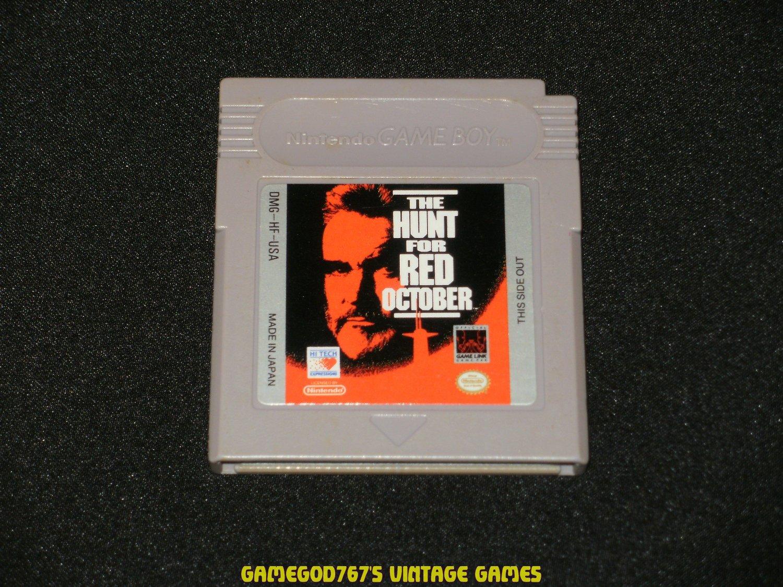 Hunt for Red October - Nintendo Gameboy