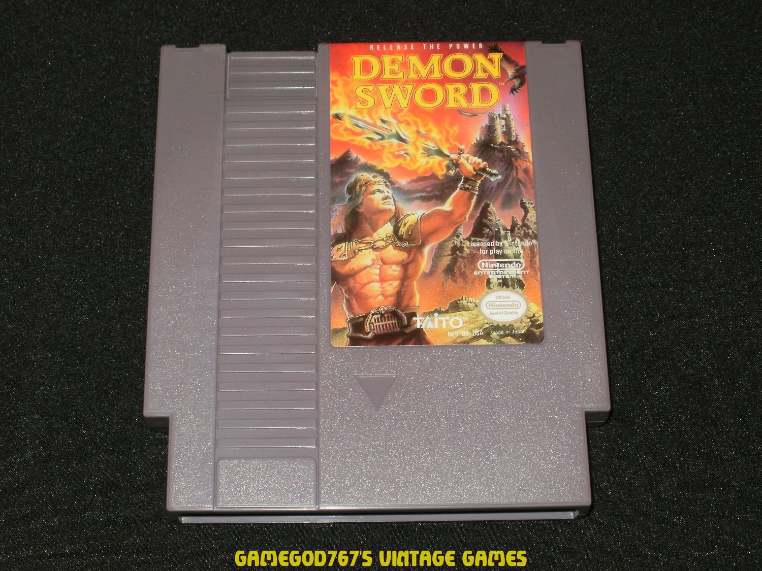 Demon Sword - Nintendo NES