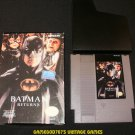 Batman Returns - Nintendo NES - With Box & Cartridge Sleeve - Rare
