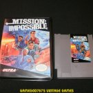 Mission Impossible - Nintendo NES - With New Bit Box Case
