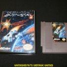 Destination Earthstar - Nintendo NES - With New Bit Box Case