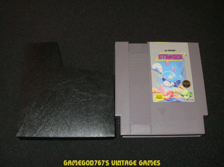 Stinger - Nintendo NES - With Cartridge Sleeve