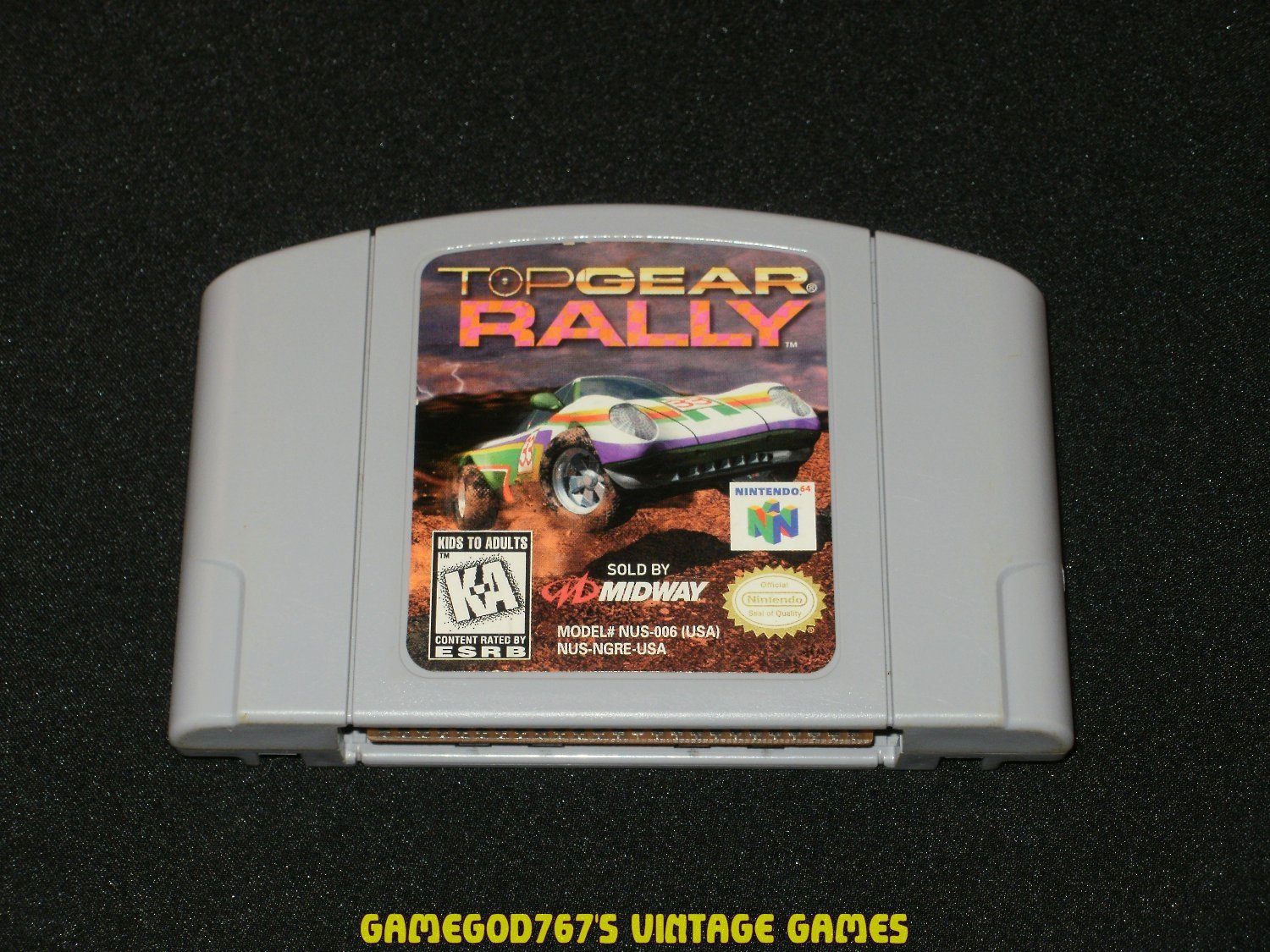Top Gear Rally - N64 Nintendo