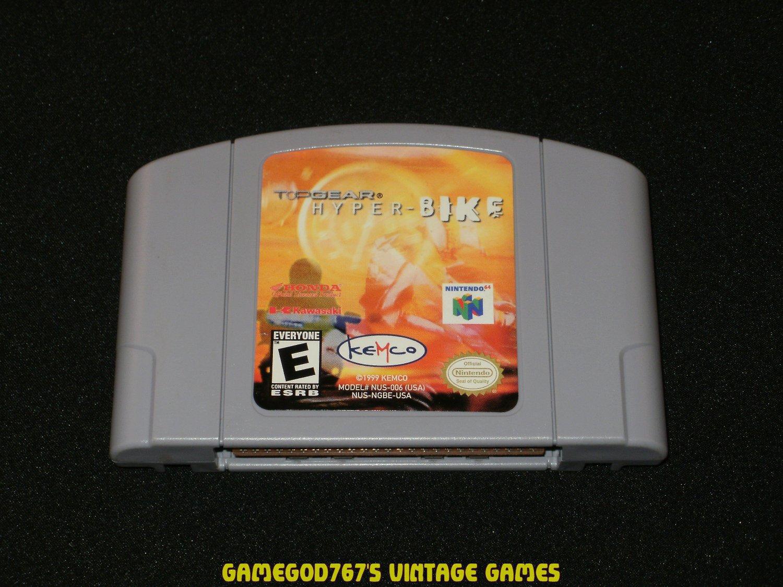Top Gear Hyperbike - N64 Nintendo