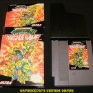 Teenage Mutant Ninja Turtles II - Nintendo NES - Complete CIB