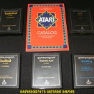 Text Label Sports Game Pack - Atari 2600 - 5 Games & Catalog
