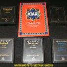 Text Label Sports Game Pack - Atari 2600 - 5 Games & Catalog