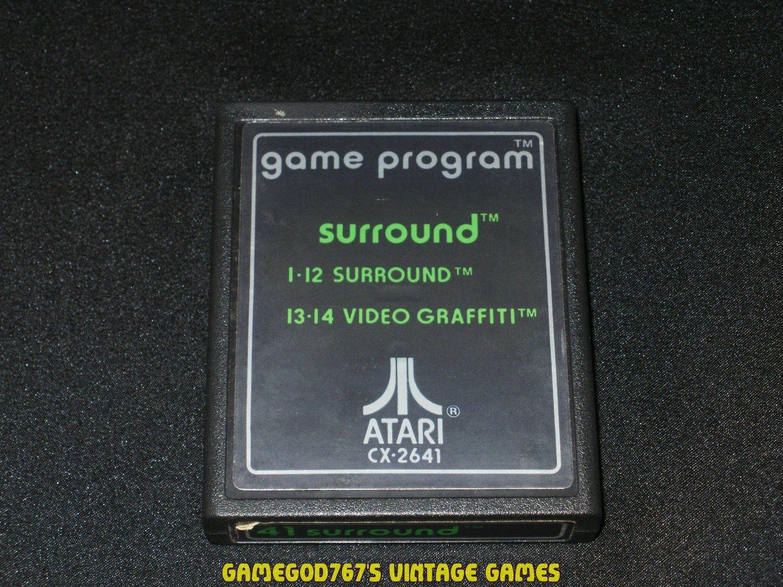 Surround - Atari 2600 - Text Label Version