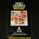 Video Olympics - Atari 2600 - Manual Only