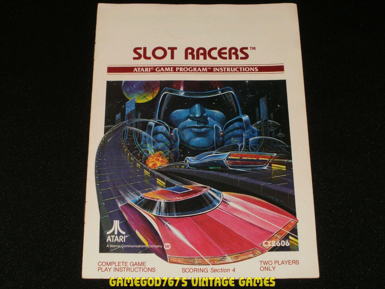 Slot Racers - Atari 2600 - Manual Only
