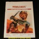 Warlords - Atari 2600 - Manual Only