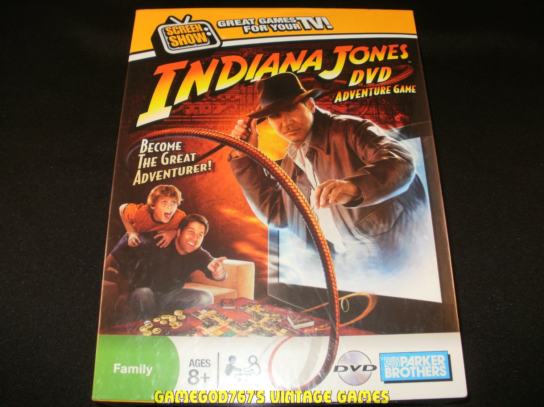 Indiana Jones DVD Adventure Game - Hasbro (2008) - Brand New Factory Sealed