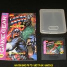 Captain America and the Avengers - Sega Game Gear - With Case & Manual - Uncommon