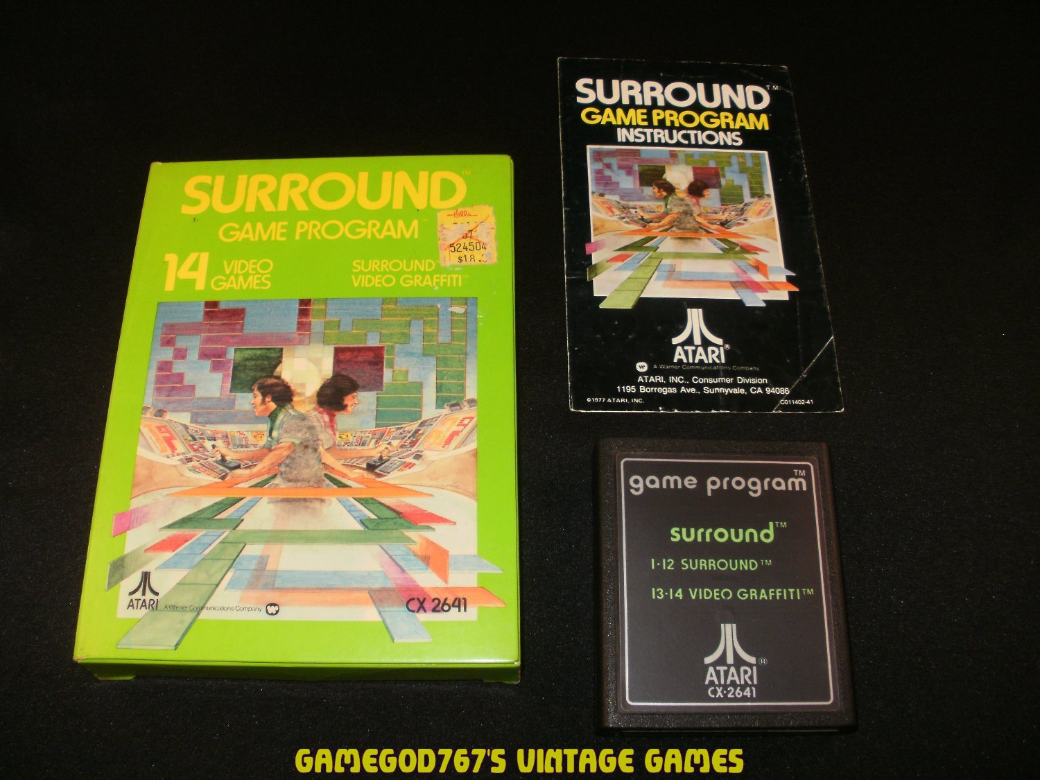 Surround - Atari 2600 - Complete CIB